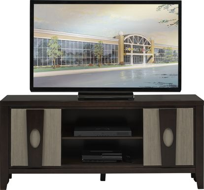 Braham II Brown Merlot 60 in. Console