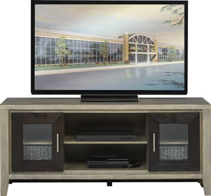 Braham II Driftwood Gray 60 in. Console