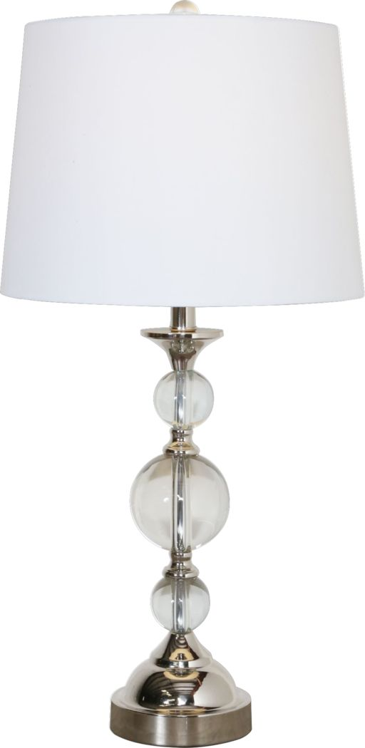 Brandeis Silver Lamp