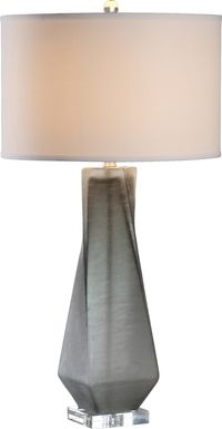 Branham Cove Gray Lamp