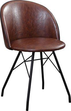 Branley Brown Swivel Desk Chair