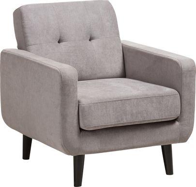 Breneman Gray Accent Chair