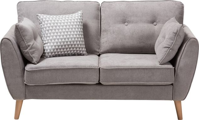 Breneman Gray Loveseat