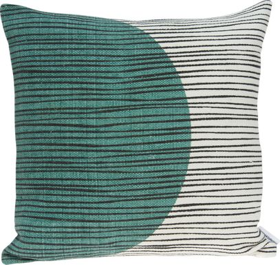 Breona Teal Accent Pillow