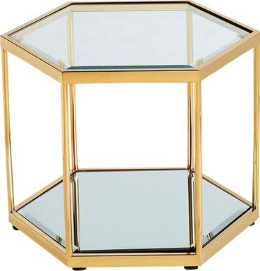 Breyerton Gold End Table
