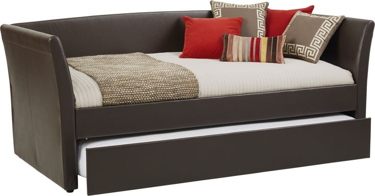 Brianne Brown Daybed with Trundle