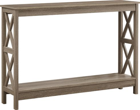 Briarfern Taupe Sofa Table