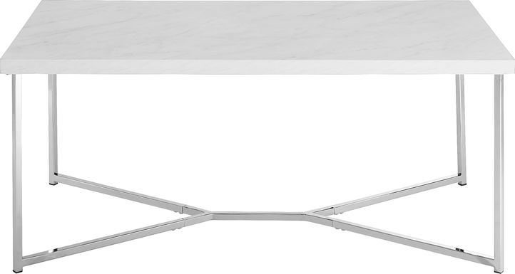 Briarwood Chrome Cocktail Table
