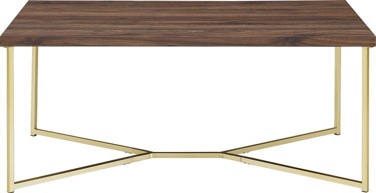 Briarwood Walnut Cocktail Table