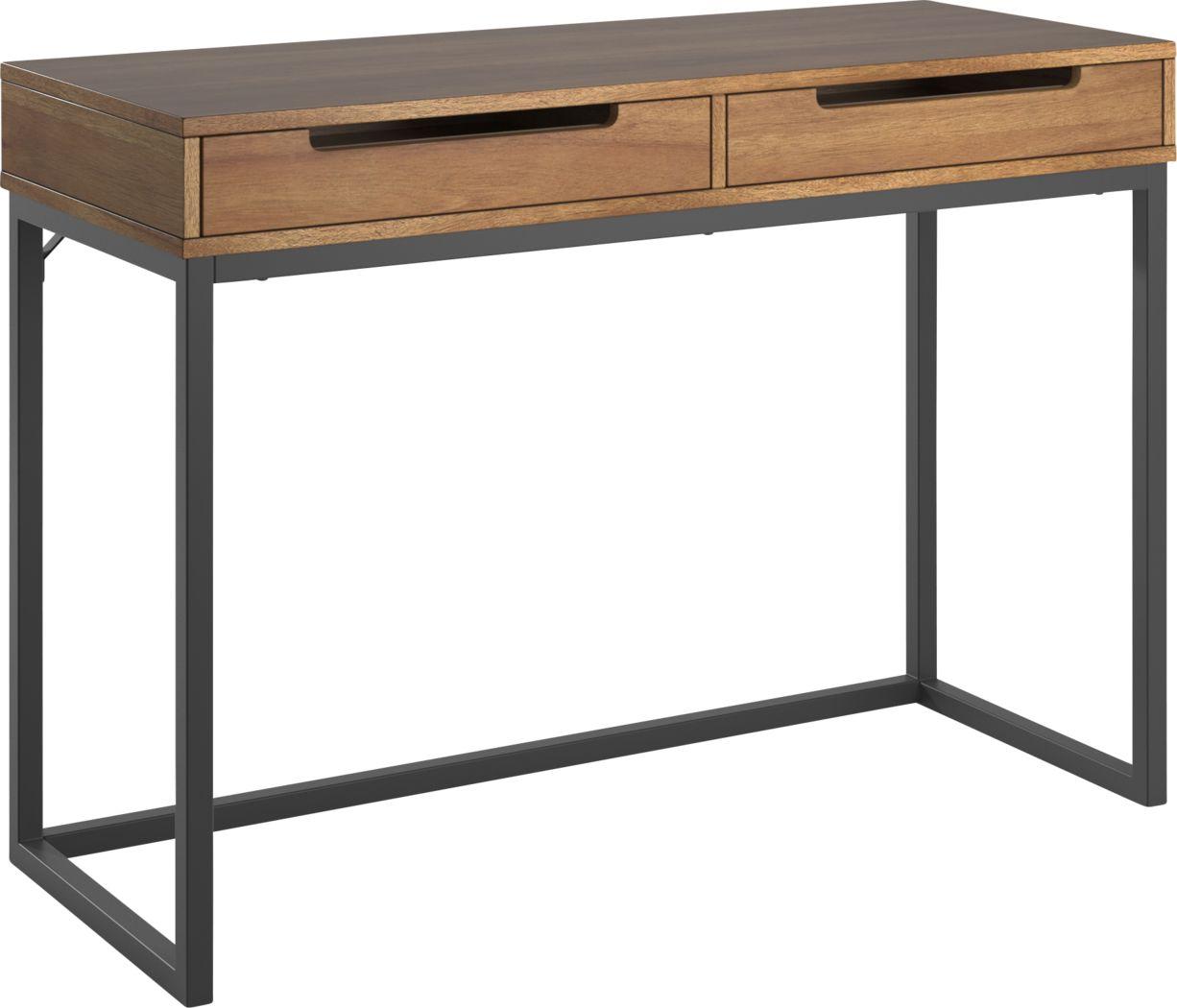 Brickell Way Brown Desk