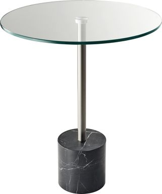 Brimson Black Accent Table