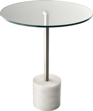 Brimson White Accent Table