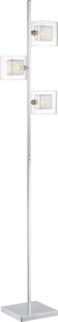 Brinkly Bay Chrome Floor Lamp