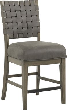 Bristow Charcoal Counter Height Stool