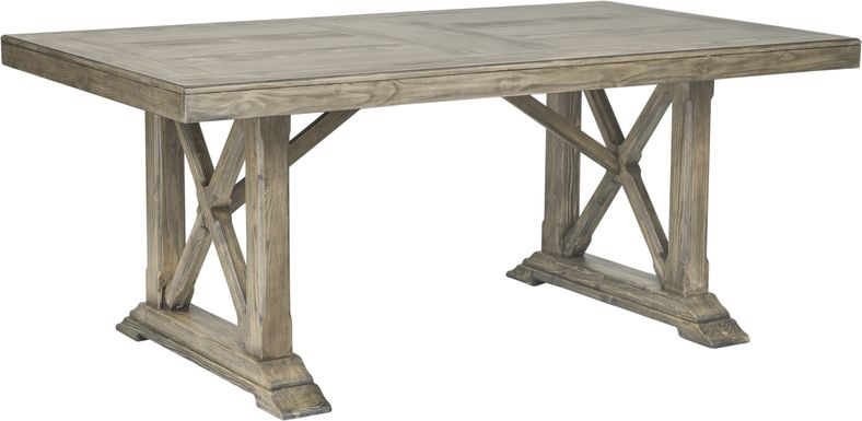 Bristow Charcoal Rectangle Dining Table