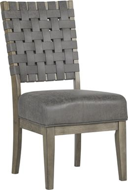 Bristow Charcoal Side Chair