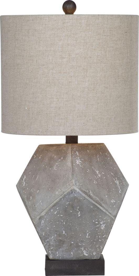 Broadmoor Gray Lamp