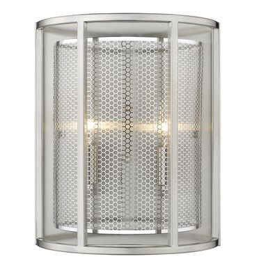 Broadstar Nickel Sconce