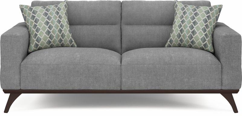 Broadview Park Gray Sofa