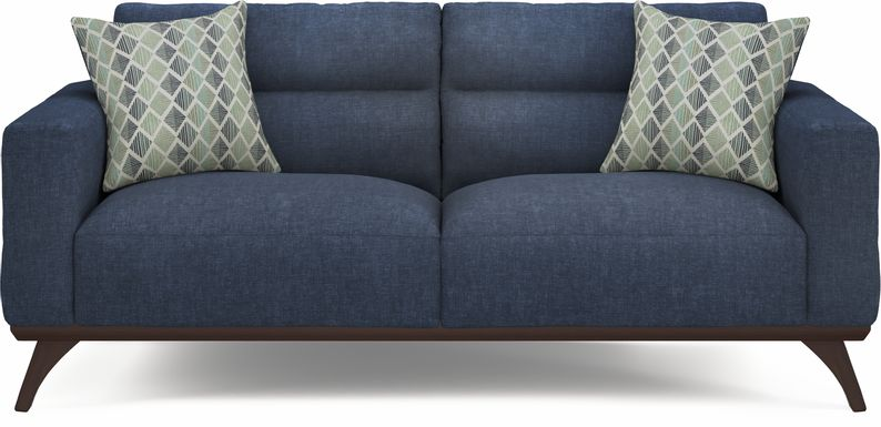 Broadview Park Navy Sofa