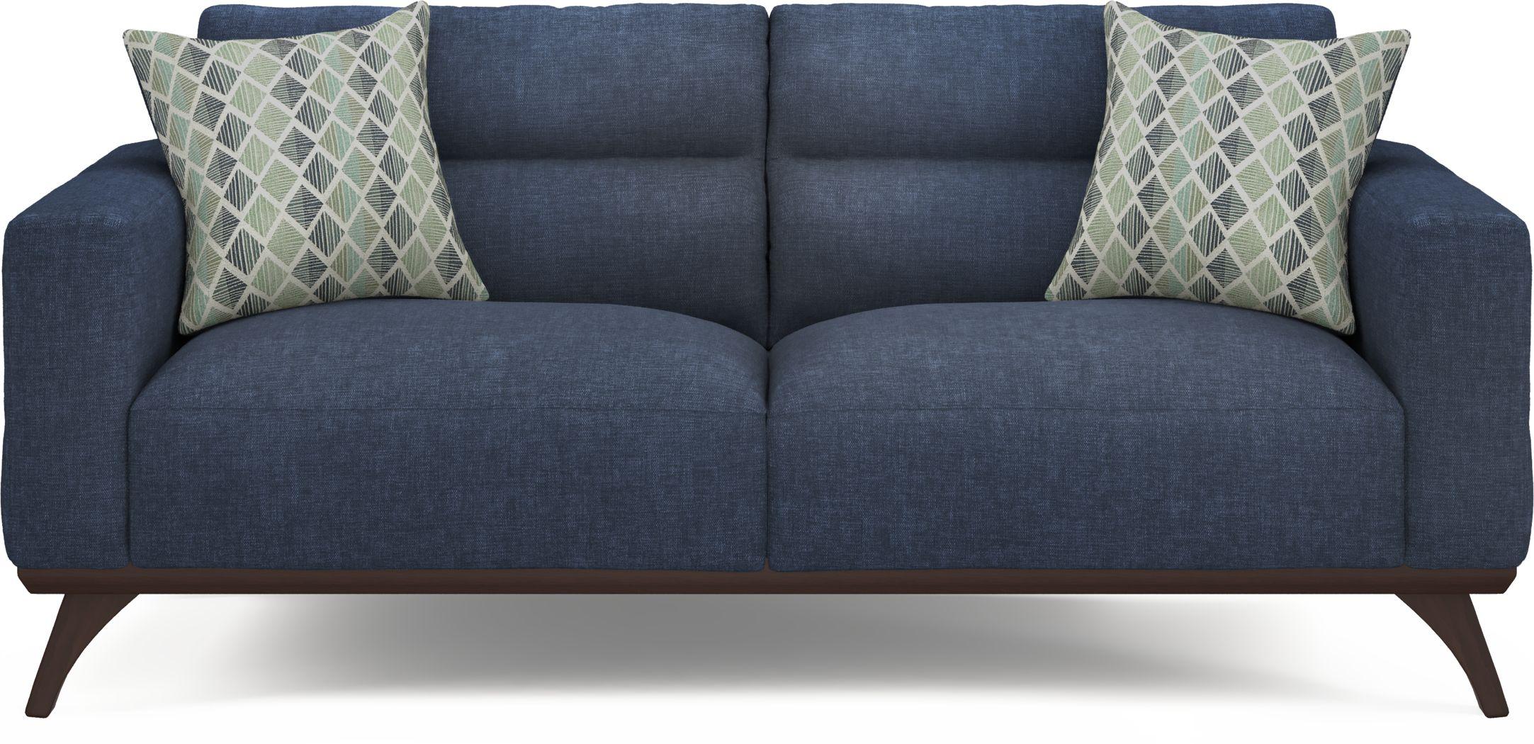 Broadview Park Navy Sofa