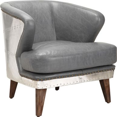 Brocton Grey Accent Chair