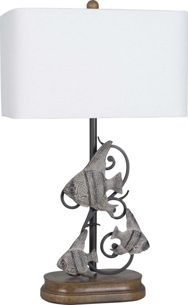 Brodick Black Lamp