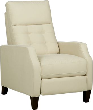 Bromfield Natural Microfiber Pushback Recliner