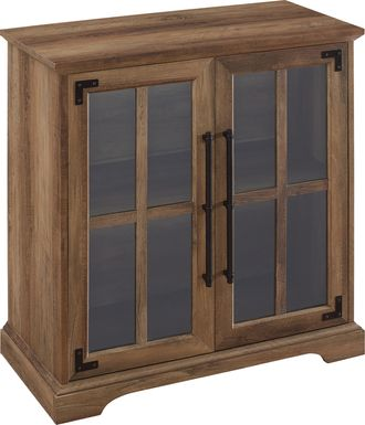Bronzewood Brown Accent Cabinet