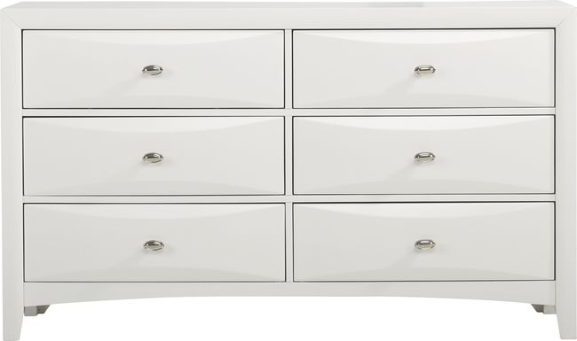 Brookeville White Dresser