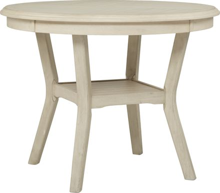 Brookgate Bisque Counter Height Round Dining Table