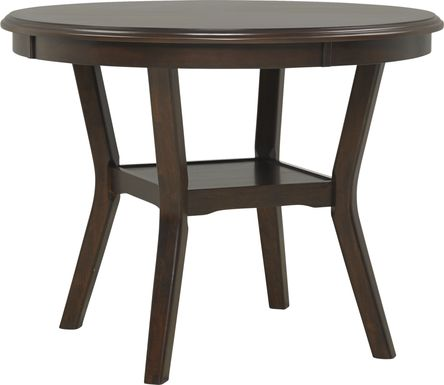 Brookgate Brown Cherry Counter Height Round Dining Table