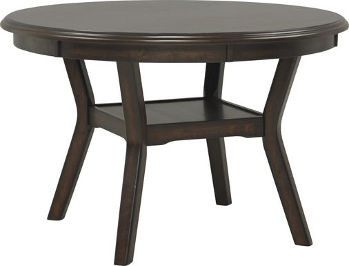 Brookgate Brown Cherry Round Dining Table