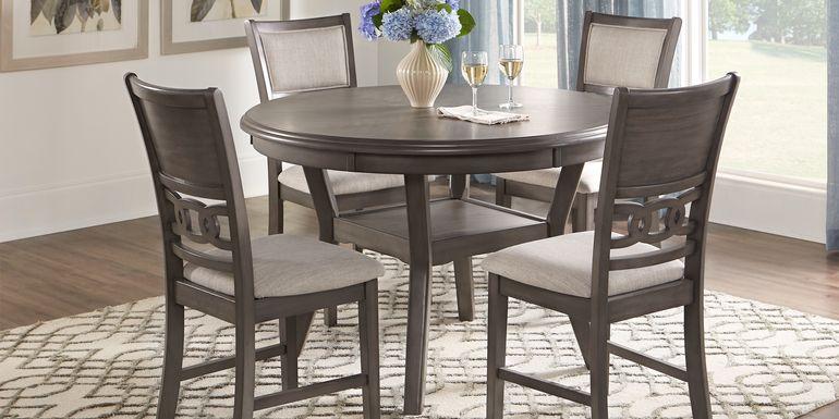 Brookgate Gray 5 Pc Round Dining Set