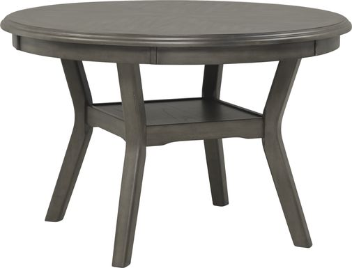 Brookgate Gray Round Dining Table