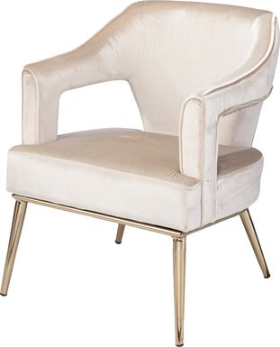 Brookstown Taupe Accent Chair