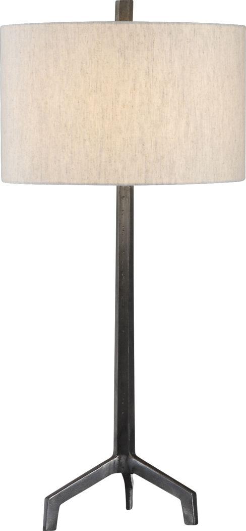 Brookwood Cove Silver Lamp
