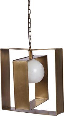 Brownsfield Brass Pendant