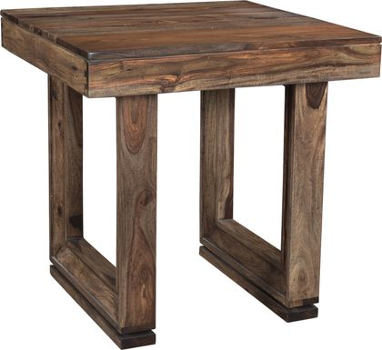Brownstone Nut Brown End Table