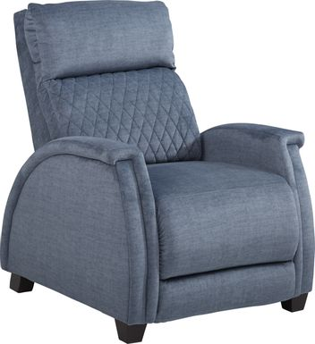 Brunning Blue Triple Power Recliner