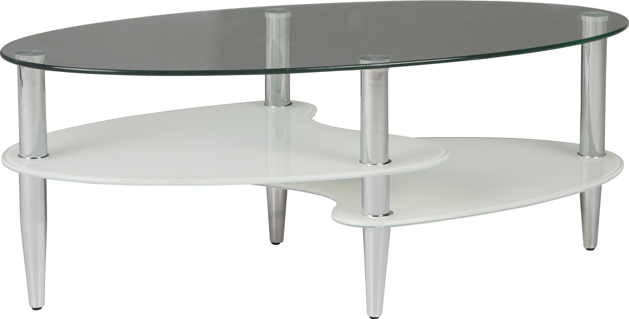 Brunson Silver Cocktail Table