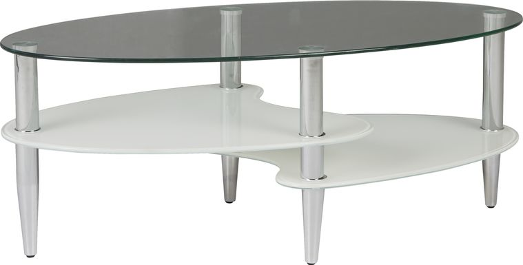Brunson Silver Cocktail Table