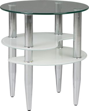 Brunson Silver End Table