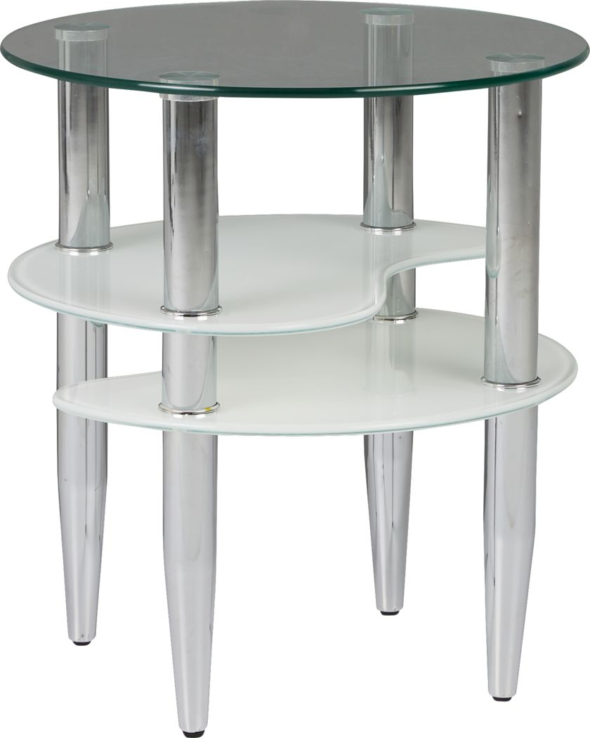 Brunson Silver End Table