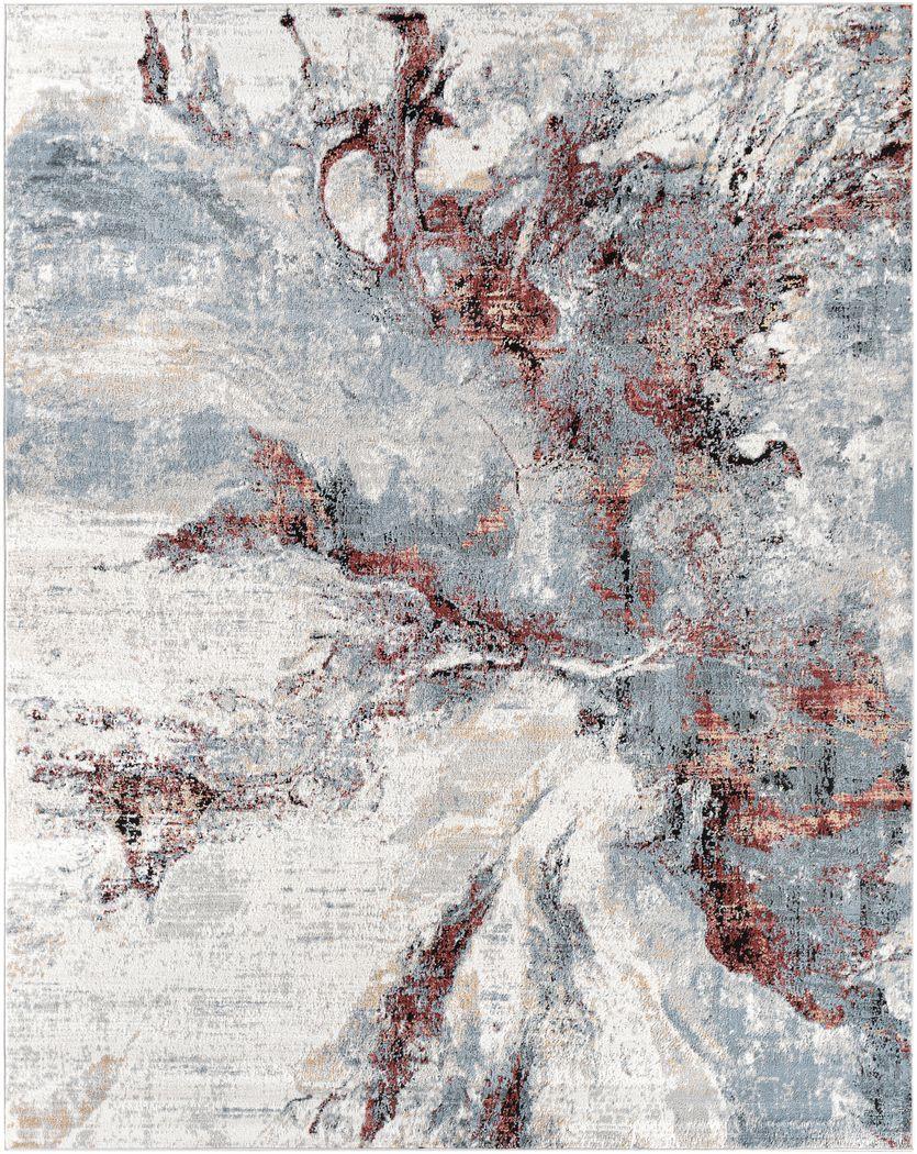 Brycen Gray 7'10 x 10' Rug