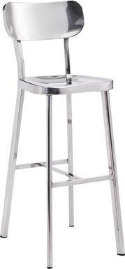 Brye Heights Stainless Steel Barstool