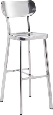 Brye Heights Stainless Steel Barstool