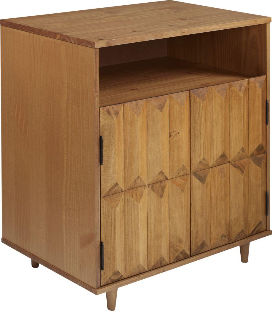 Bryker Caramel Accent Cabinet