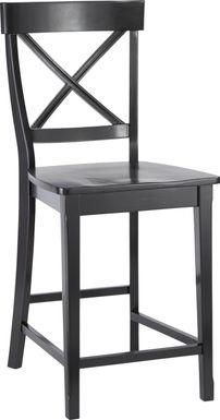 Brynwood Black Counter Height Stool