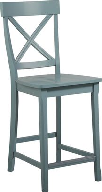 Brynwood Blue Counter Height Stool